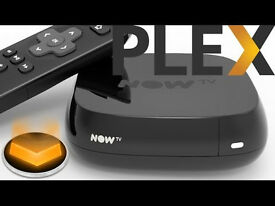 NOW TV BOX HD MEDIA STREAMER WITH PLEX INSTALLED + FREE MOVIE / ADULT CHANNELS !!!
