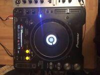 CDJ 1000s MK3 (pair) and DJM600 Mixer