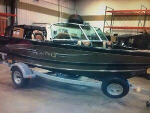 2013 Lund Crossover 1775 fish and ski