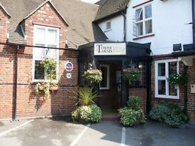 Enthusiastic General manager needed for pub with 11 hotel rooms and more being built. Near Heathrow