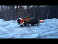 Snow removal and lawn care