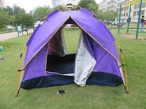 4 or 6 Person double line auto Pop Up Camping Tent Waterproof Browns Plains Logan Area Preview