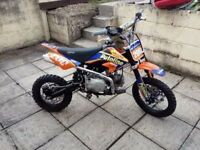 2015 British stomp pit bike