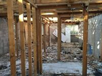 Professional demolition for a good price