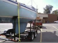 parting out a 25 foot sailboat