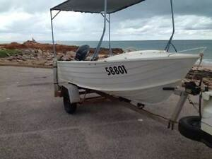 STACER 4M DINGY WIDE BEAM 30H.P YAMAHA Broome Broome City Preview