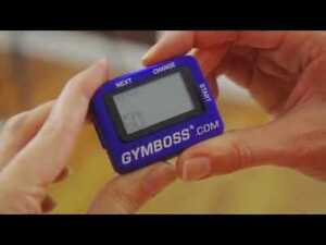 Gymboss Internval Timer - Blue