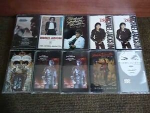 LOOKING FOR MICHAEL JACKSON MUSIC CASSETTE TAPES