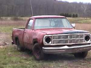 Wanted.....mid to late 70s dodge trucks..condition doesnt matter