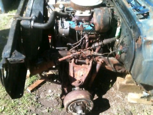 350 engine with 400 trans and dana 60 rear end