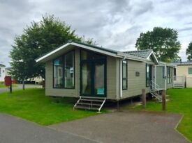 Luxury lodge for sale with £25,000 discount in Norfolk by the beach no pitch fees until 2019