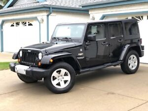 2012 Jeep Wrangler Unlimited Sahara 4Dr -REDUCED