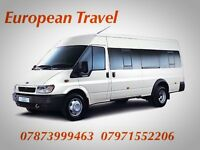 European Travel Mini Bus Hire