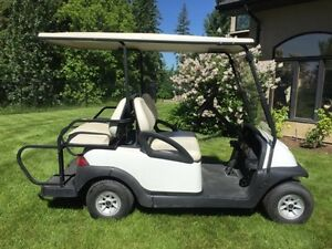 GOLF CART 4 SEATER - VILLAGER EDITION - ELECTRIC