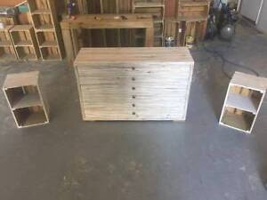 Custom Made Tall boy / Bedside Tables Nerang Gold Coast West Preview