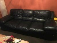 Beautiful sot leather sofa ,very comfy and soft