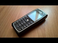 UNLOCKED BLACK NOKIA 6230i MOBILE PHONE IN VERY GOOD CONDITION + CHARGER