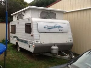 Jayco discovery pop top caravan 15ft Bellbird Park Ipswich City Preview