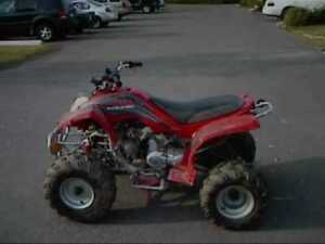 wanted katerra 4-wheeler part to fix up my old one