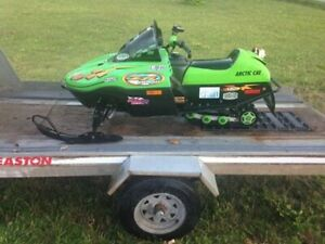 Wanted: kids 120cc snowmobile