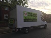 cheapest- man and van services removals merseyside 07584410990