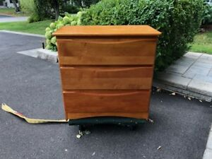 Solid Wood Dresser - 3 Drawer