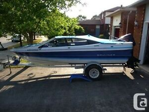 Looking for  16ft and up outboard style boat