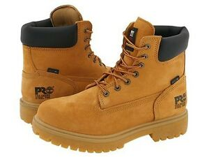 """Timberland 6"""" steel toe boots"""