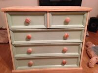 UPCYCLED CHEST OF DRAWERS SOLID PINE