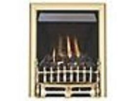 GAS FIRE FOCAL POINT LPG OR PROPANE COAL EFFECT WITH INSERT.