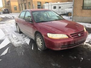 2001 Honda Accord Ex Sedan