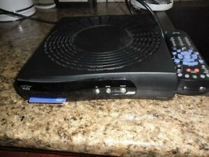 Bell satellite receiver - remote and card & all hook-up cables