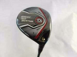 Callaway Great Big Bertha #3 Wood Graphite Regular Flex Mens Right