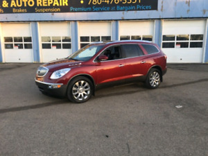 2010 BUICK ENCLAVE CXL AWD 99KMS DVD NAVI SUNROOF LEATHER