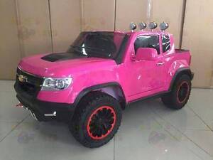 2017 Actual 4WD Ute Chevrolet Z71 Colorado Style Kids Ride on Car Greenacre Bankstown Area Preview