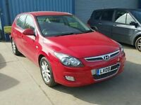 HYUNDAI i30 2009 BREAKING FOR SPARES / PARTS