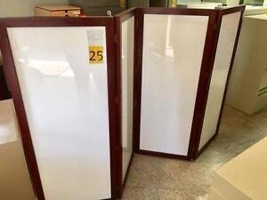 Beautiful Whiteboard Privacy Screen