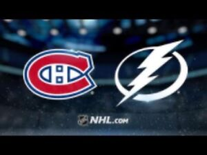 Billets de Canadiens vs Lightning