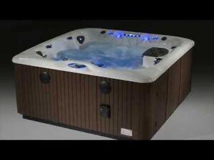Hot tub and swim spa blowout