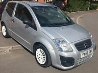 1 YEAR Warranty - £30 a Year Tax - NEW MOT & Service - Citroen C2 HDi VTR & only 2 Owners from new!