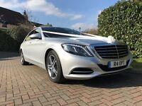 Modern Mercedes luxury wedding cars