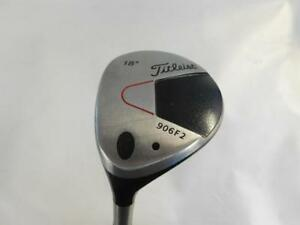 Titleist 906F2 5W 18° Graphite Regular Mens Left