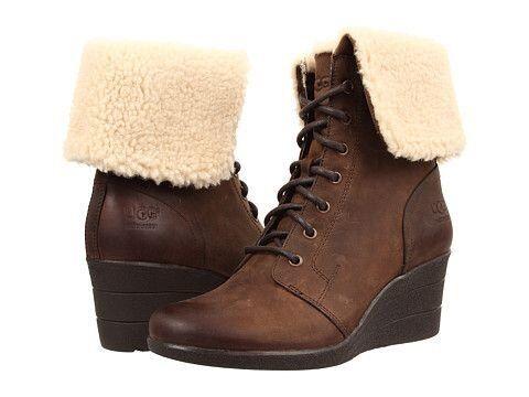 4e4ddde21e6 Ugg Zea Stout Boots Brown Uk4.5/EU37 Wedge Heel | in Edgware, London |  Gumtree