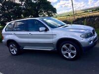 Silver BMW X5 3.0 D Sport