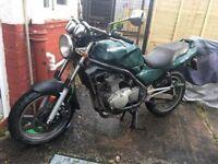 Kawasaki er5 500cc mot December serviced