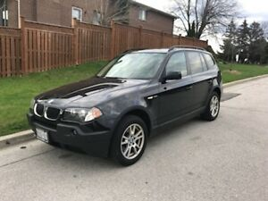 2006 BMW X3 SUV, low kms, great condition!