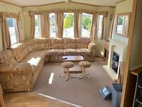 STATIC CARAVAN FOR SALE ISLE OF WIGHT NEAR NODES POINT AND LOWER HYDE 10 FREE FERRY TICKETS