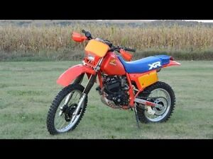 Wanted: 1980's 250cc Japanese dirt bike