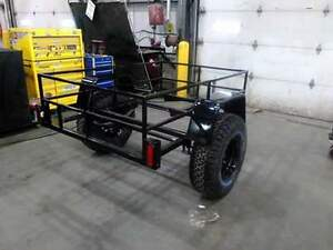 Home built utility trailer on 33s