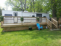 Lakeside Trailer on Rice Lake For Sale! One of a Kind!